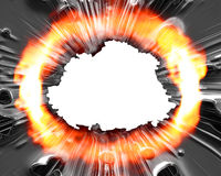 Explosão Imagem de Stock