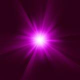 Explosão abstrata roxa. EPS 8 Fotografia de Stock