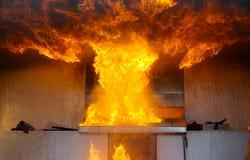 Explosão grande Fotografia de Stock Royalty Free