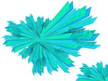 Explosure abstrakt begreppbakgrund Royaltyfri Bild