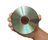Explotación agrícola DVD de la mano imagenes de archivo