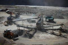 Explotación minera Foto de archivo