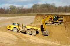 Explotación minera Imagen de archivo libre de regalías