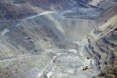 Explotación minera a cielo abierto Imágenes de archivo libres de regalías