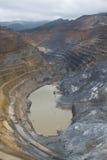 Explotación minera del mineral Imagen de archivo libre de regalías