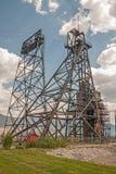 Explotación minera Headframe Fotografía de archivo libre de regalías