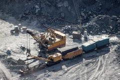 Explotación minera y planta de tratamiento de Kachkanar Imagenes de archivo