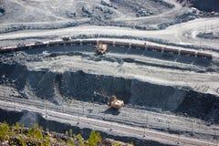 Explotación minera y planta de tratamiento de Kachkanar Imagen de archivo libre de regalías