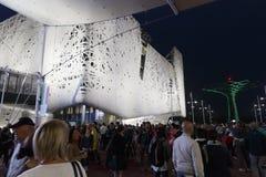 EXPO 2015 Μιλάνο - Ιταλία Στοκ φωτογραφία με δικαίωμα ελεύθερης χρήσης