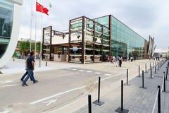 Expo2015米兰,米兰 免版税图库摄影
