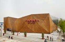 EXPO 2010 Canadese Pavillon Stock Afbeelding