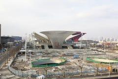 Expo 2010 : chantier de construction Photo stock