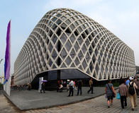 EXPO 2010 de Shangai del pabellón de Francia Fotos de archivo libres de regalías