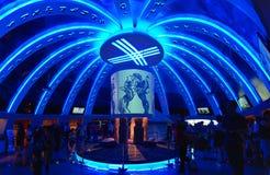 EXPO 2010 del mondo di Schang-Hai del padiglione del Kirghizstan Immagine Stock