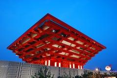 EXPO 2010 di Schang-Hai del padiglione della Cina Fotografia Stock