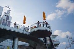 Expo 2010 het Shanghai-Paviljoen van Nederland Royalty-vrije Stock Foto's