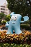 Expo 2010 Shanghai China Mascot Haibao Stock Photos