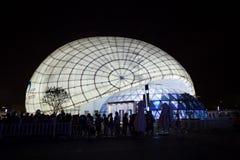 Expo 2010 Shanghai - het Paviljoen van de Luchtvaart van China Stock Afbeeldingen