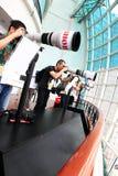 Expo 2011 de Canon Imagem de Stock
