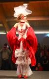 Expo 2011 de fiesta - étalages des mariées exagérées Images stock