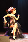 Expo 2011 de fiesta - étalages des mariées exagérées Images libres de droits