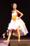 Expo 2011 de fiesta - étalages des mariées exagérées Image libre de droits