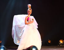 Expo 2011 de fiesta - étalages des mariées exagérées Photo libre de droits
