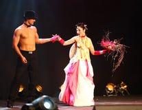 Expo 2011 de fiesta - étalages des mariées exagérées Photos libres de droits