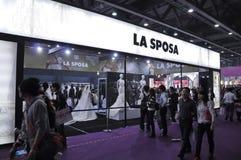 Expo 2011 di cerimonia nuziale della Cina della primavera (Guangzhou) Fotografia Stock
