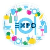 Expo 2015 Image libre de droits