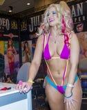Expo adulta del entretenimiento de los AVN Fotos de archivo