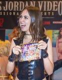 Expo adulta del entretenimiento de los AVN Imagenes de archivo
