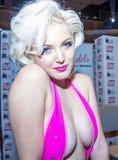 Expo adulta del entretenimiento de los AVN Foto de archivo libre de regalías