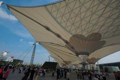 EXPO-AXIS, expo Shangai 2010 China Imágenes de archivo libres de regalías
