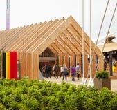 Expo - Belgium pavilion Royalty Free Stock Photo