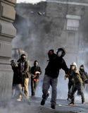 Expo 2015 : Blocs de noir dans l'action Photos libres de droits