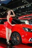 Expo bonita do motor Fotos de Stock