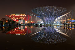 Expo Boulevard Royalty Free Stock Images