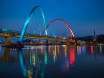 Expo Bridge in Daejeon,South Korea. Stock Photo