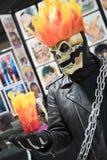 Expo comica Ghost Rider 1 di Long Beach Fotografie Stock