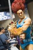 Expo comica ThunderCat 2 di Long Beach Fotografia Stock