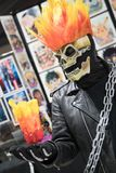 Expo comique Ghost Rider 1 de Long Beach photos stock