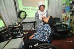 Expo d'incapacité en Indonésie Image libre de droits
