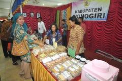 Expo d'incapacité en Indonésie Images libres de droits