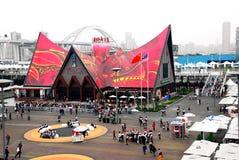 EXPO de Changhaï, pavillon de la Malaisie Photographie stock