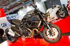 Expo 2013 de la bici de Eurasia Moto Imágenes de archivo libres de regalías
