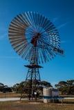 Expo de moulins à vent Images libres de droits