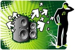 Expo de musique Images libres de droits