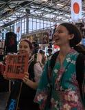 Expo 2017 de Paris - du Japon images libres de droits