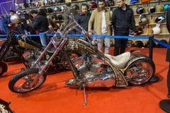 Expo de vélo de l'Eurasie Moto Image stock